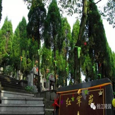 钱江公墓红军苑