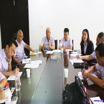 钱江陵园召开2019年度年中工作总结会议